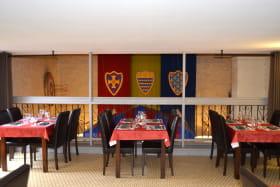 salle à l'étage (36 couverts)