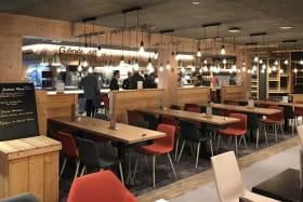 terrasse cafe megeve restaurant