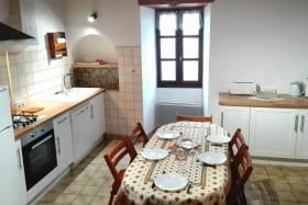 Cuisine équipée, espace repas