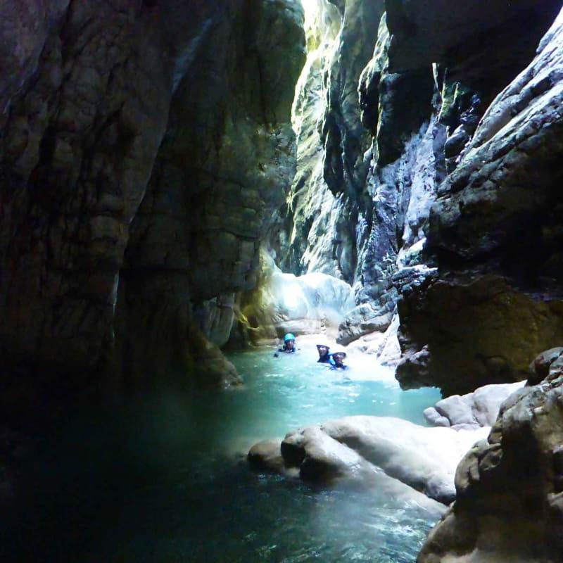 Canyon sensation Pont du diable