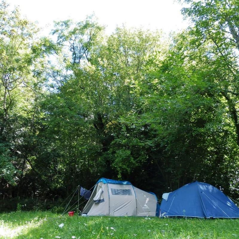 Les Blaches - camping rural