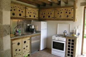 Gite Le Poirier Fondant au Mayet de montagne dans l'allier en Auvergne, la cuisine
