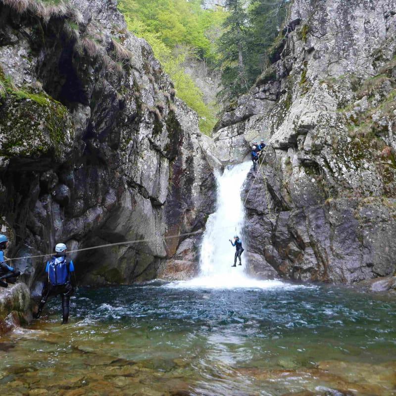 Canyoning - La Haute Borne avec le BMAM