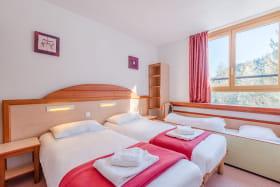 Chambre twin Hotel Club Savoie