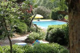 Jardin du gîte Issignols