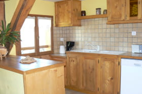 Location maison dans les Bauges - cuisine