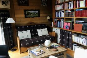 Mezzanine, bibliothèque : le coin détente