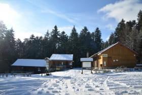 Foyer de ski de fond Le Montoncel à Lavoine dans l'Allier en AUVERGNE