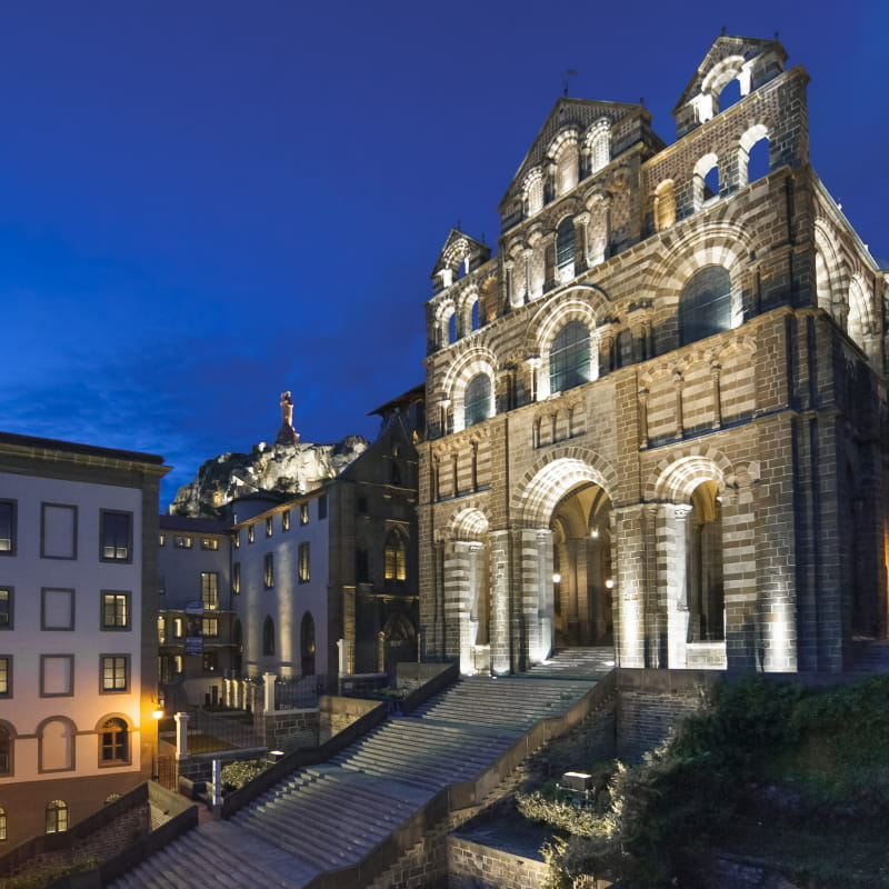 Le Puy-en-Velay, Patrimoine mondial de l'UNESCO