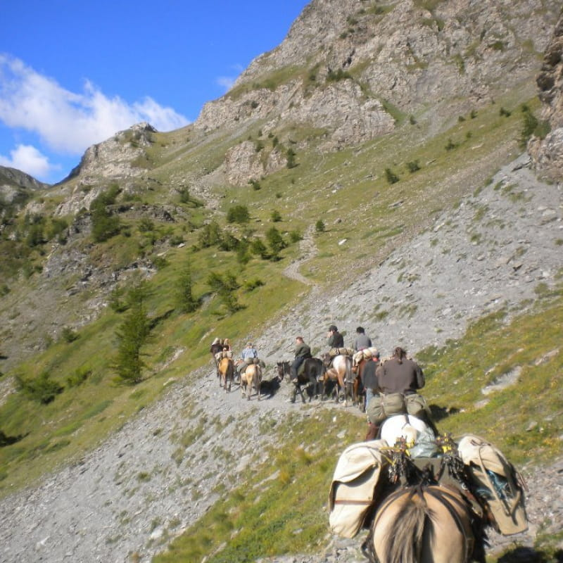 La route Napoléon à cheval de Grasse à Laffrey