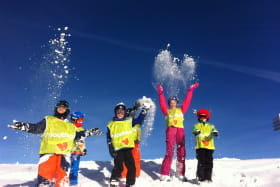 Ski Famille sur le Grand Massif - cours privés 3 à 8 pers.