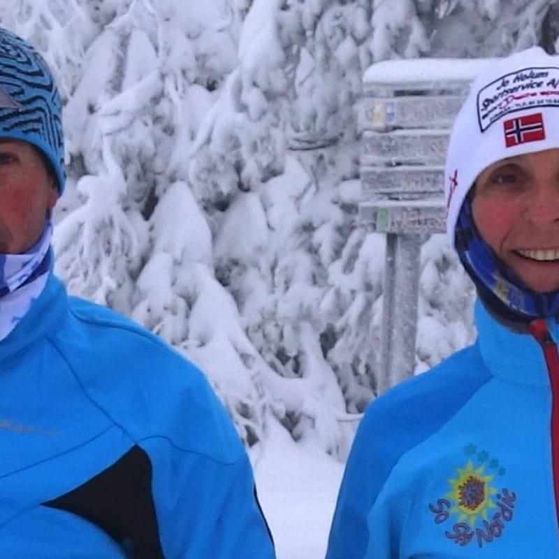 Les moniteurs de l'école de ski SoSkiNordic