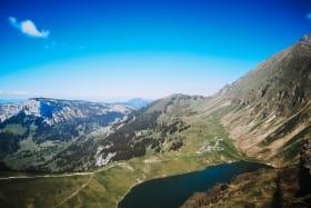 Lac de Lessy par Paradis