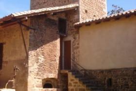 Gîte du Domaine Claire Rivier à Régnié-Durette (Rhône - Beaujolais) : côté cour