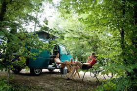Camping de Lyon - Caravane