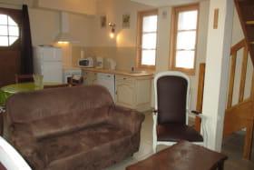 Gîte rural de Dompierre sur Besbre, le salon