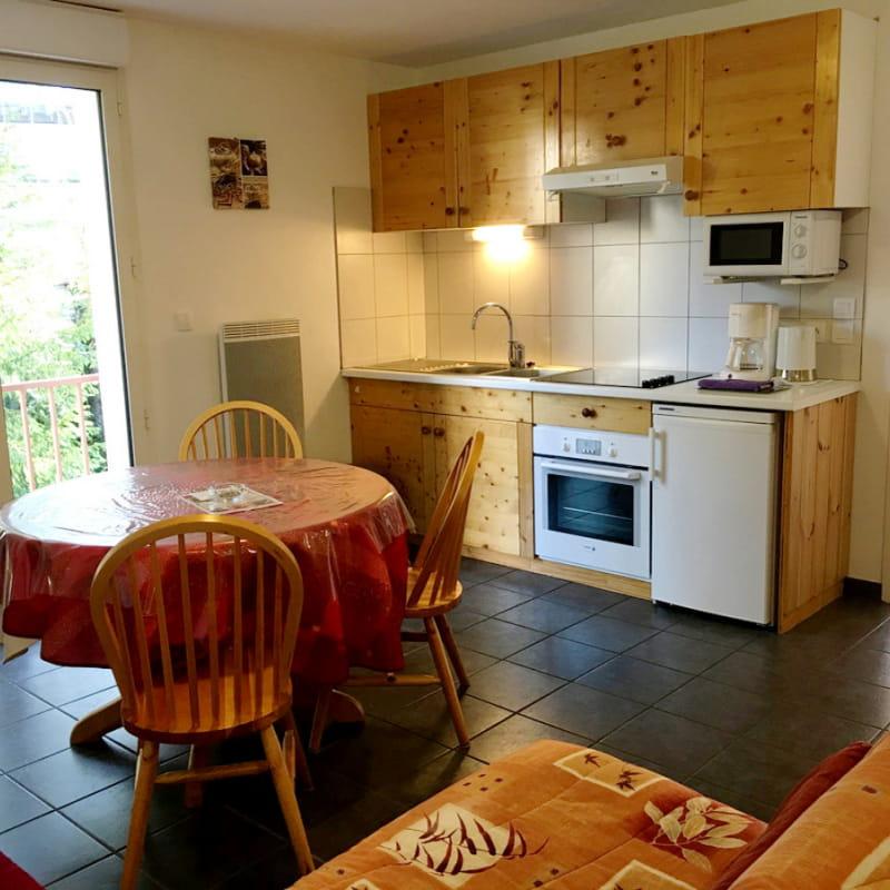 Location meublé Chalet Camille appartement 15 salon