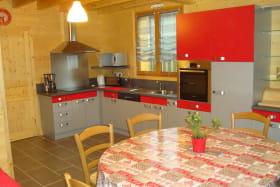 Chalet du Moulin Gelles cuisine 1