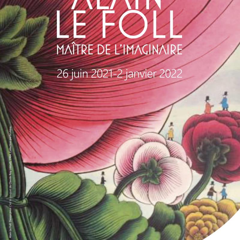 affiche Exposition Alain Le Foll
