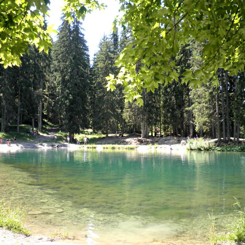 Lac des Evettes à Flumet