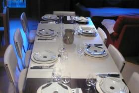 La table dressée pour 8
