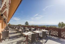 Terrasse du restaurant Bois Joly