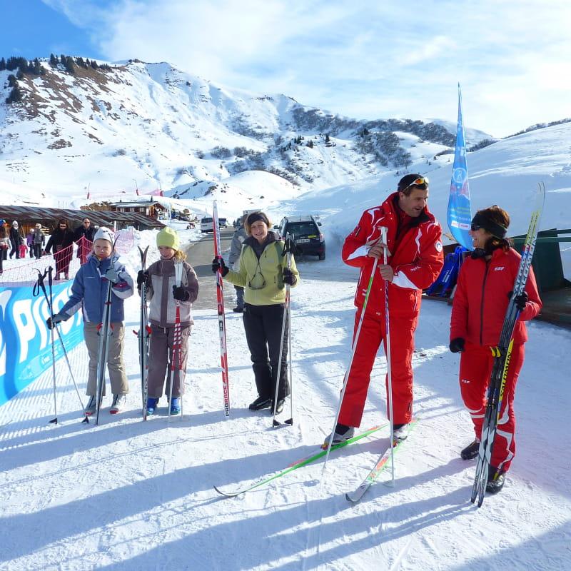 Cours collectifs de ski de fond