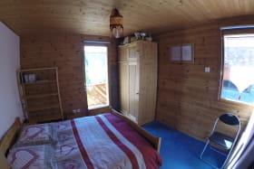 Chambre duplex au gîte Le Croé à Aussois