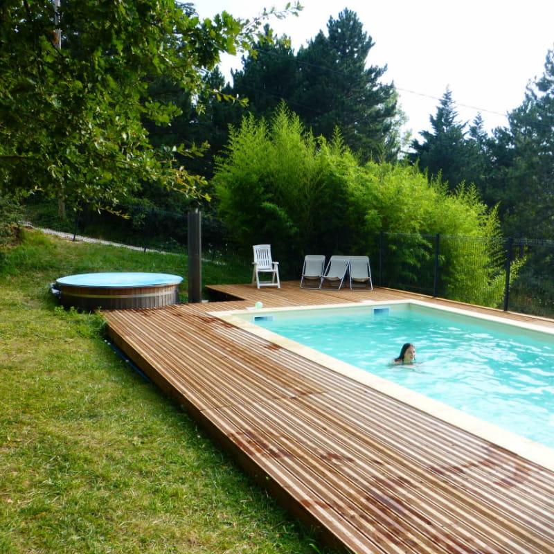 piscine chauffée 1.50m profondeur