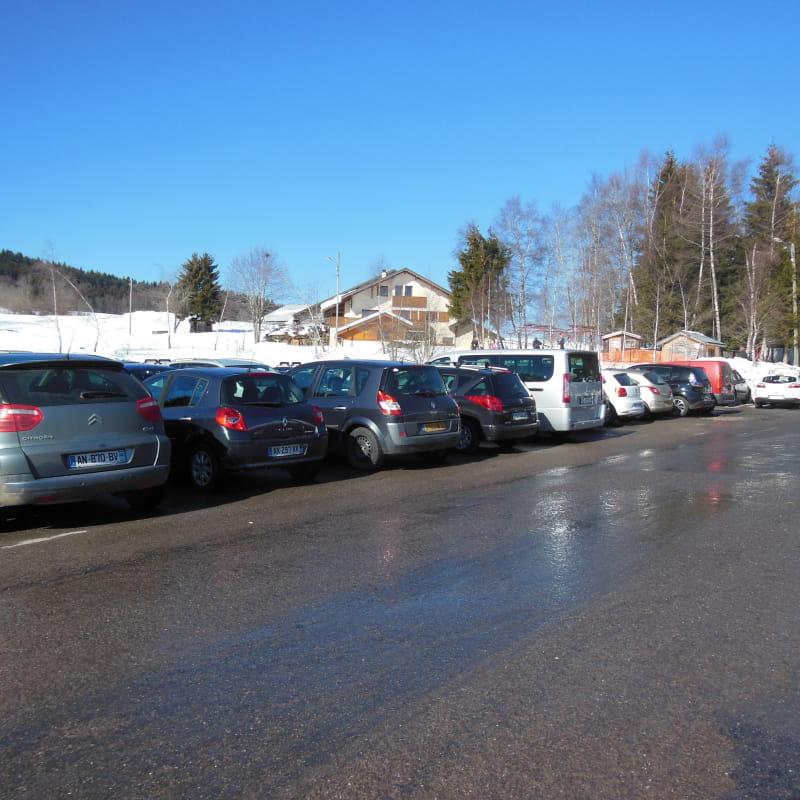Aire de stationnement - camping-car des Moises