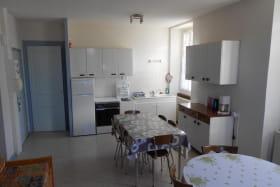 Grand espace salon et cuisine