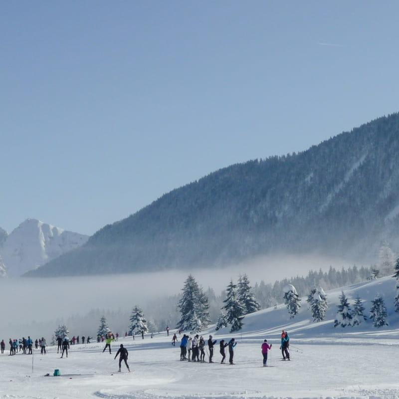 Domaine de ski de fond Glières