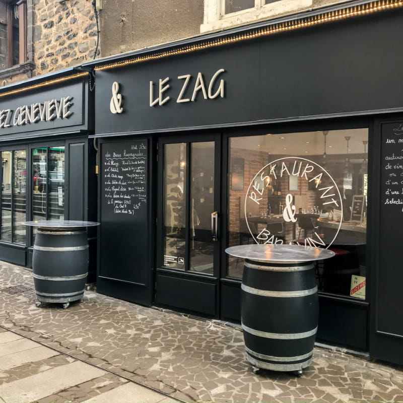 Chez Geneviève et bar à vins le Zag