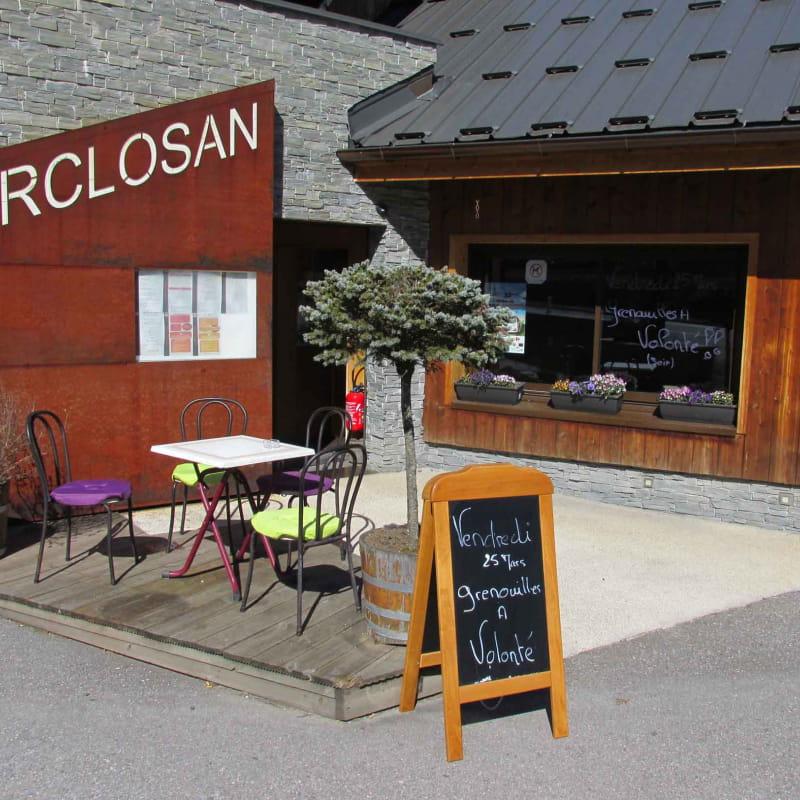 Restaurant l'Arclosan en bord de piste cyclable