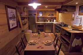 Le coin cuisine, salle à manger
