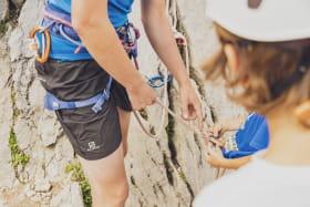 Séance d'escalade au Grand-Bornand pour les 8-12 ans