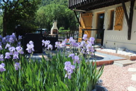 Terrasse du jardin Clos