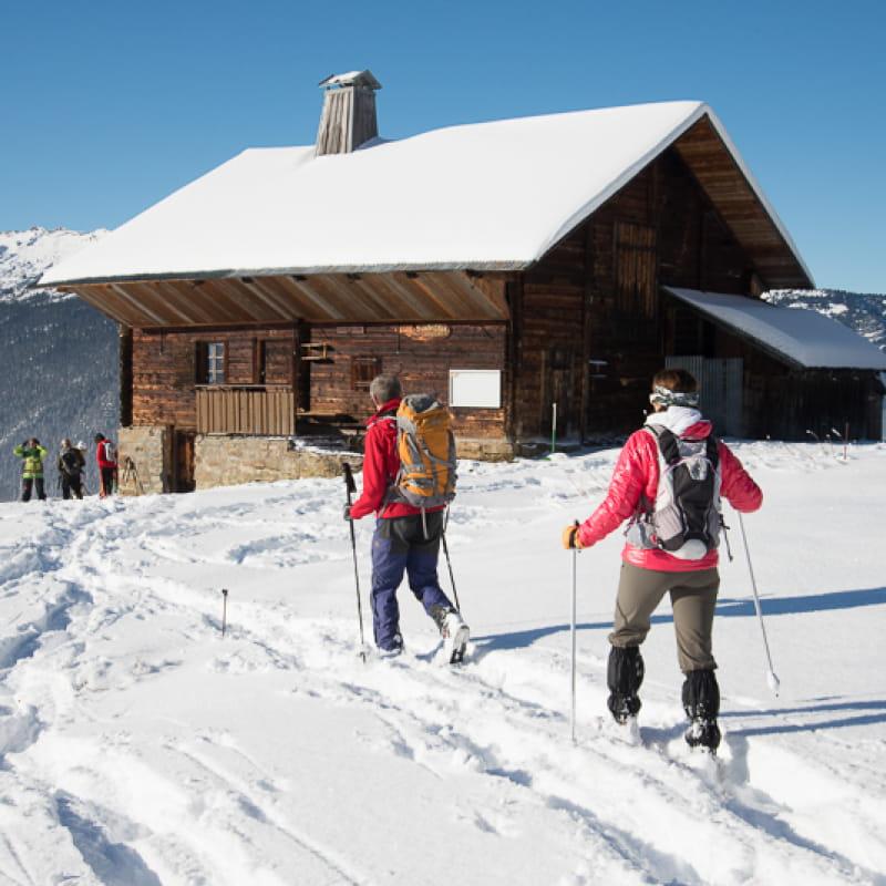 Compagnie des Guides des Aravis en hiver