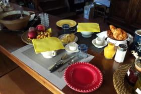 Petit déjeuner Chez Babeth Marcha