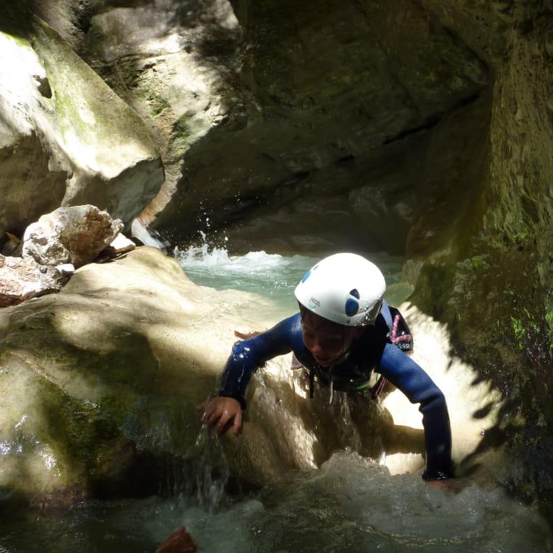 Canyon de la Mouna à la Bâtie de Gresse-en-Vercors