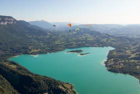 Vol en parapente Lac d'Aiguebelette