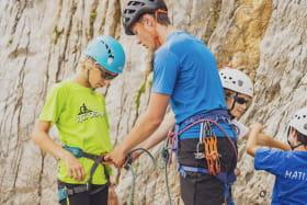 Stage d'escalade au Grand-Bornand pour les 8-12 ans