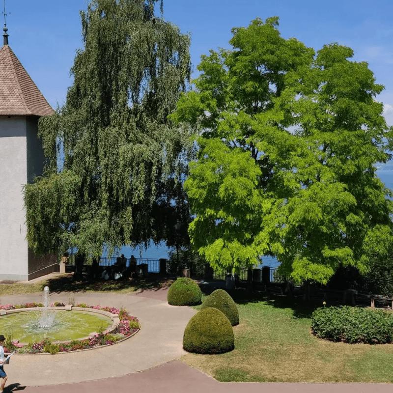 Vue Lac depuis le balcon