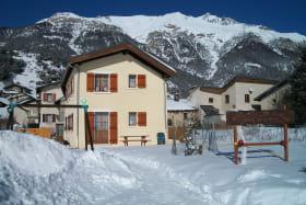 La Grange à Val Cenis-Sardières : l'extérieur en hiver