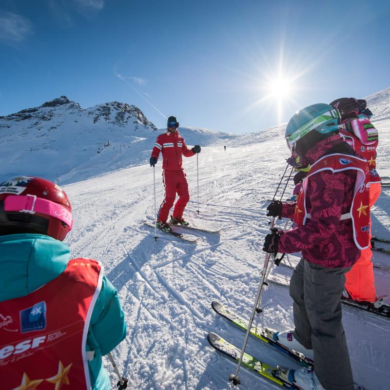 ESF Val Cenis, pour le plaisir du ski en cours collectif