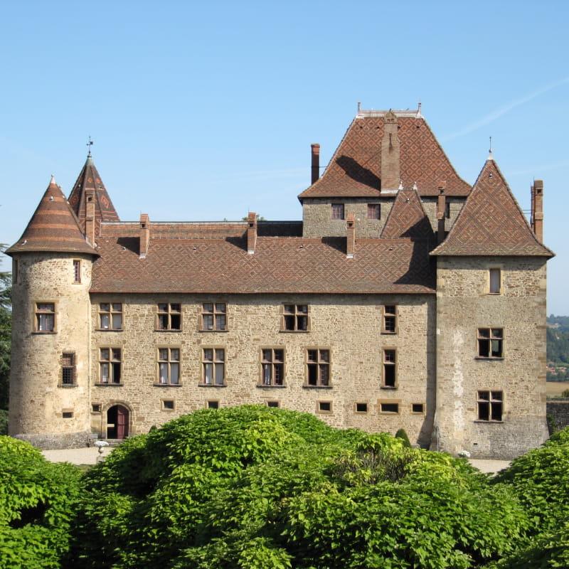 Extérieurs du château de Septème