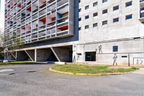 Appartement meublé 3ème rue de l'Unité d'Habitation Le Corbusier