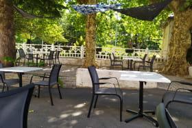 terrasse du restaurant La cuisine d'Alex