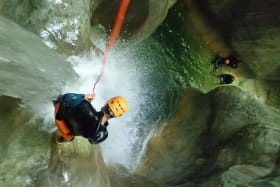 Canyoning, Franck Balmier