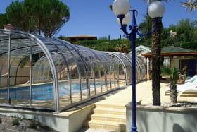 Villa patio - piscine